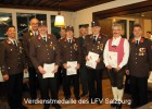 Hermann Hirscher, Matthäus Kraft, Andreas Höll und Blasius Resch: Verdienstmedaille LFV