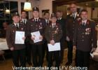 Joesef Krallinger, Christian Wass und Robert Krallinger: Verdienstmedaille LFV